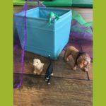 Unser Yoga für Kinder mit Tierfiguren